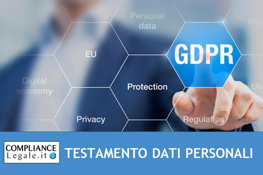Testamento digitale: disposizione dei dati personali dopo il decesso – Privacy.