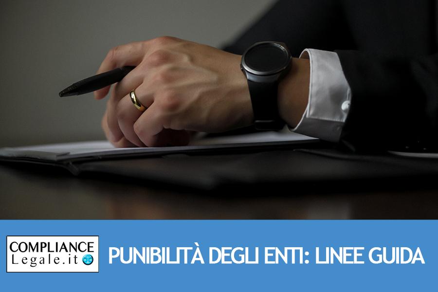 Punibilità degli enti: aspetti generali (D.Lgs. 231/2001).