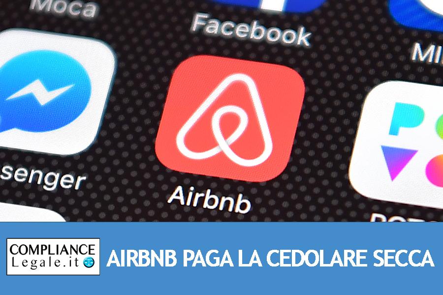 AirBnb perde di fronte al TAR Lazio: la cedolare secca dovrà essere pagata dalla piattaforma e non dai privati.
