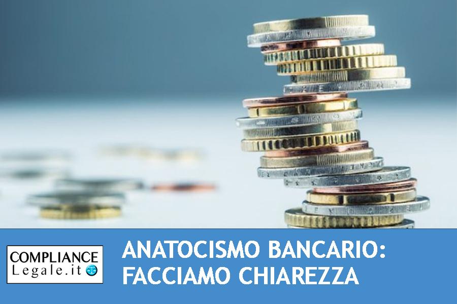Anatocismo bancario: facciamo chiarezza.