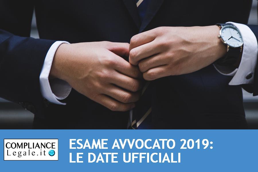 Esame avvocato 2019: pubblicate le date ufficiali delle prove scritte.