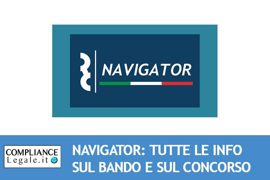 Navigator: tutte le informazioni sul bando e sul concorso appena concluso.