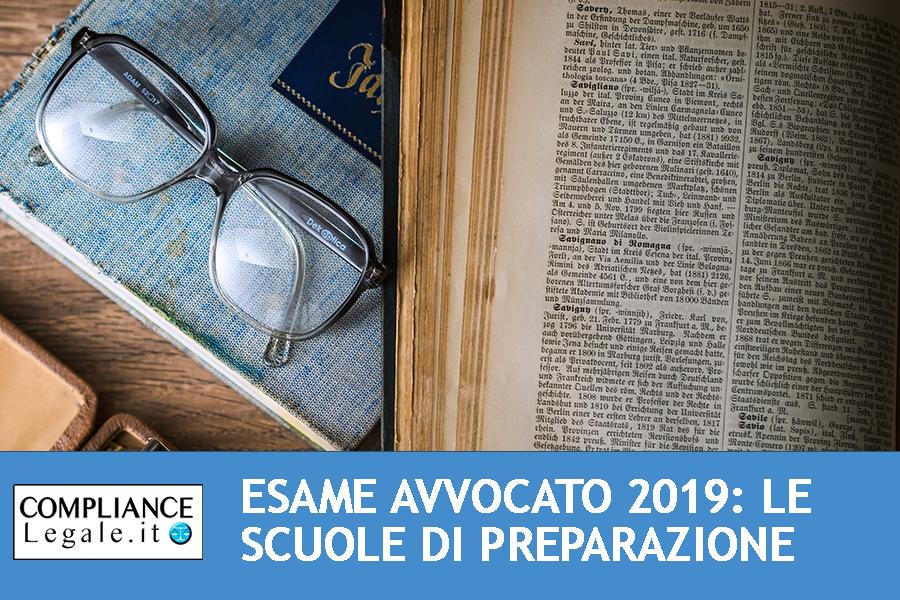 Esame Avvocato 2019: le migliori scuole di preparazione.