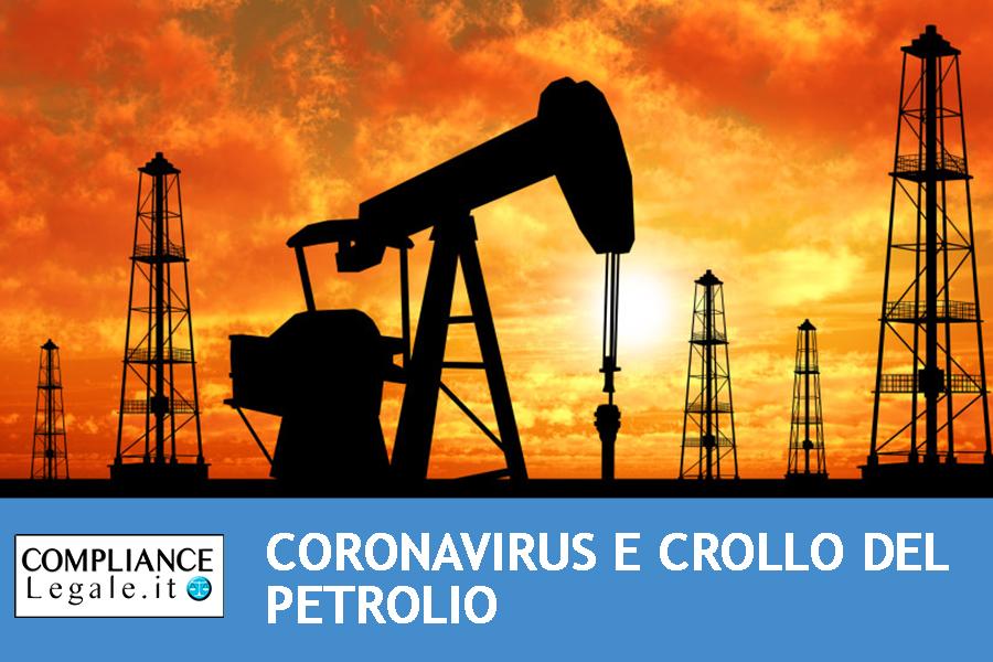 Crolla il petrolio, ma la colpa non è (solo) del coronavirus.
