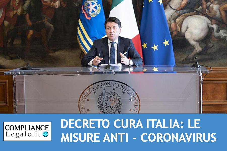 Decreto Cura Italia: approvato dal Consiglio dei Ministri il provvedimento anti – Coronavirus