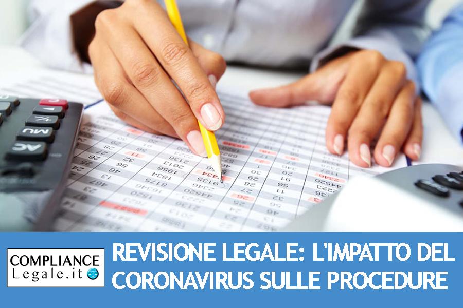 Revisione legale: l'impatto del Coronavirus sulle procedure