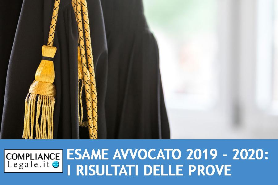 Esame Avvocato 2019 – 2020: i risultati delle prove scritte